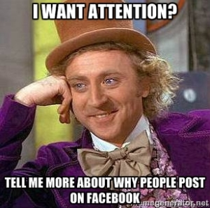 Attention on Facebook