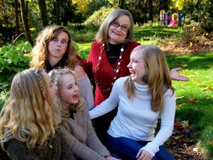 my girls and me, crazy 2011