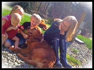 Brandi, Tessa and the kiddos