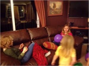 Christine, Cora and Kyla