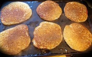 GF, Egg free pancakes