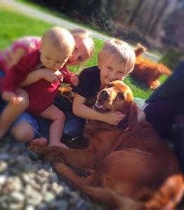 Kids and Tessa