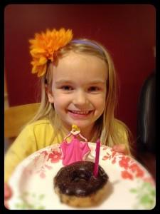 pretty princess birthday girl