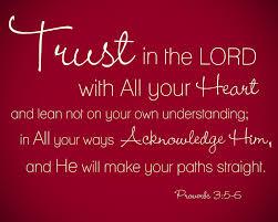 Proverbs 3    5,6