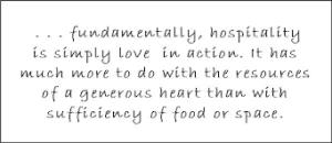 hospitality space