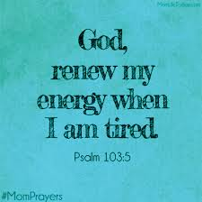Energy prayer